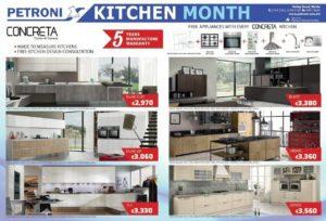 Petroni Kitchen Month